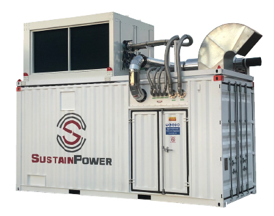 SustainPower Distell Gas Generator