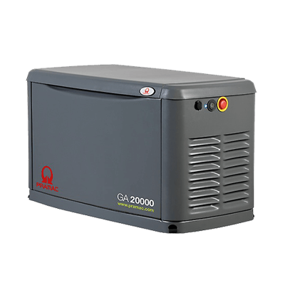 Back-up Power Gas Generator